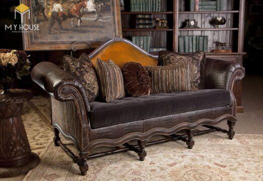 Sofa da cổ điển 7