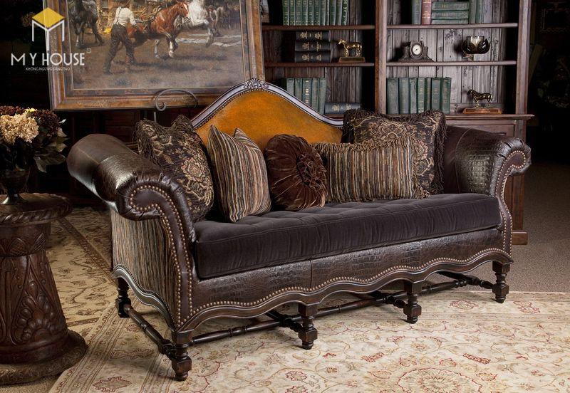 Sofa da cổ điển 3