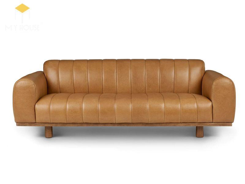 Sofa da cổ điển - Mẫu 10