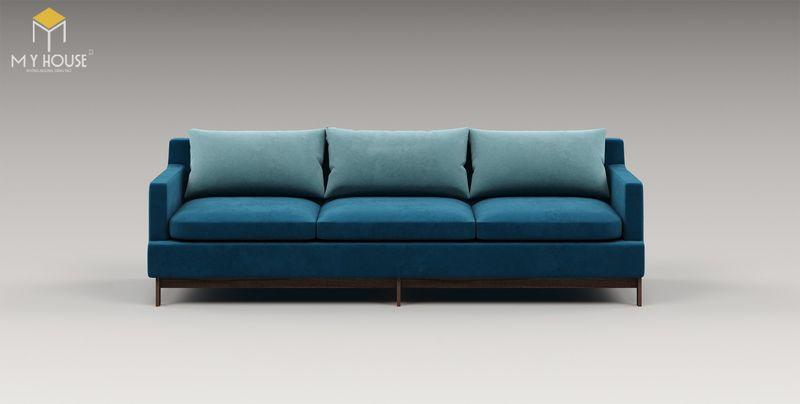 Mẫu ghế sofa da lộn - 07