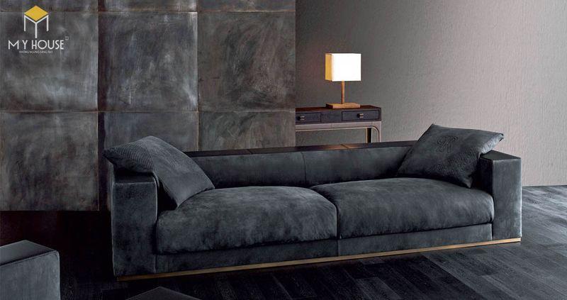 Mẫu ghế sofa da lộn - 05