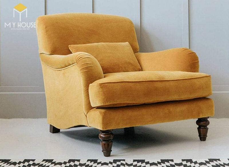 Mẫu ghế sofa da lộn - 04