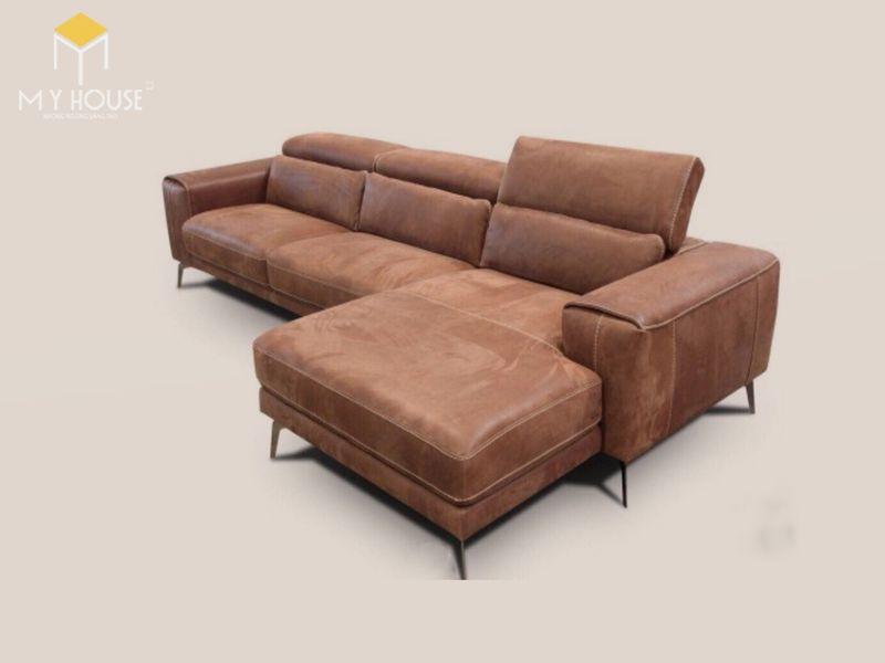 Mẫu ghế sofa da lộn - 17