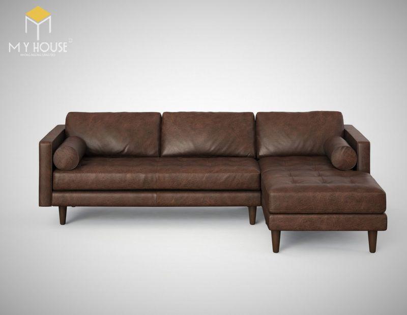 Mẫu ghế sofa da lộn - 19