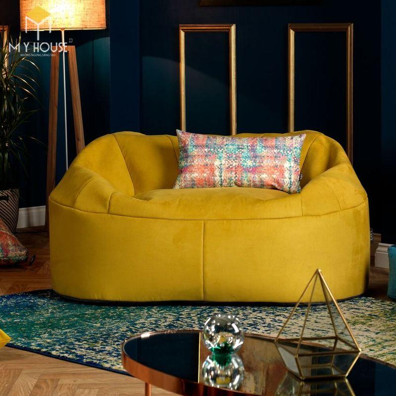 Mẫu ghế sofa da lộn - 23