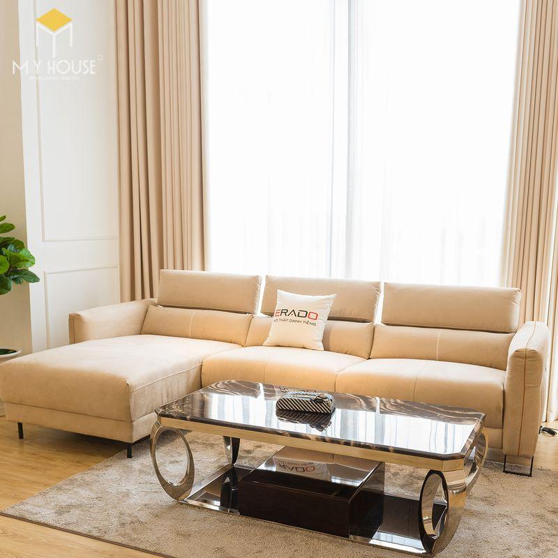 Mẫu ghế sofa da lộn - 24