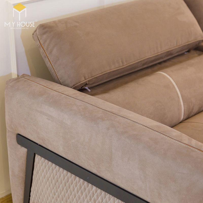 Mẫu ghế sofa da lộn - 25