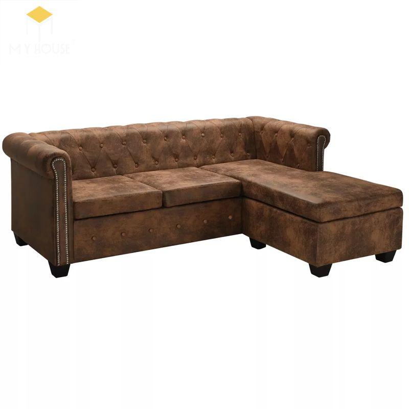 Mẫu ghế sofa da lộn - 27
