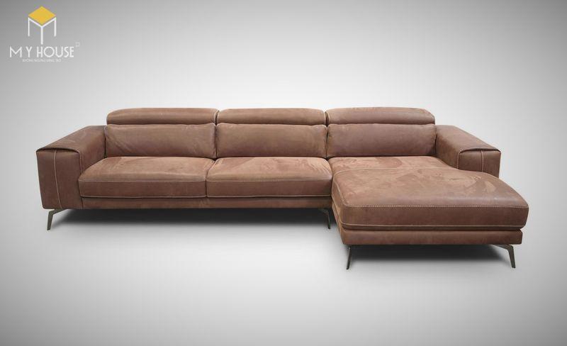 Mẫu ghế sofa da lộn - 14