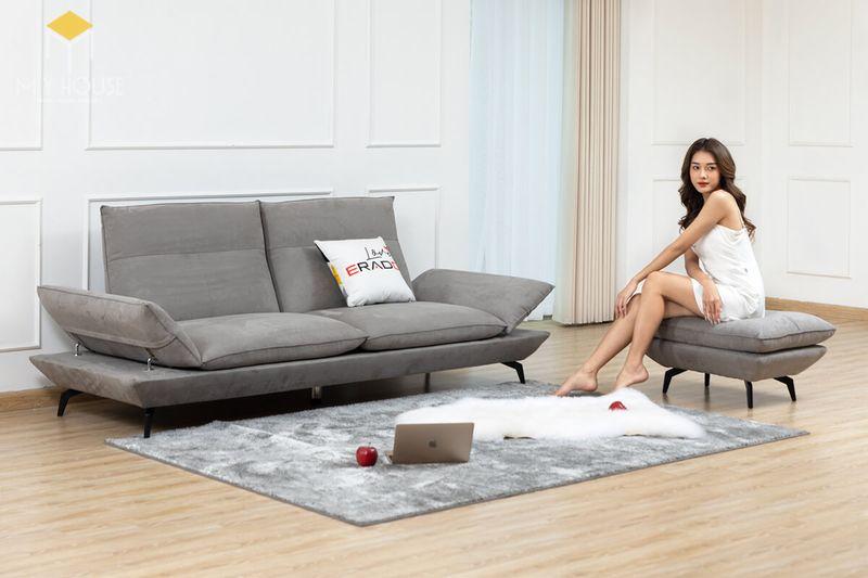 Mẫu ghế sofa da lộn - 15
