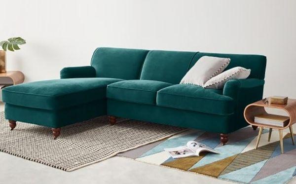Ưu điểm của sofa nỉ nhung: giá trị thẩm mĩ - 03