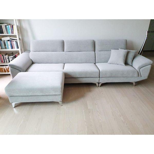 Ghế sofa nỉ nhung hiện đại - 11