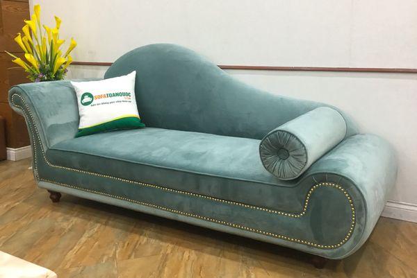 Ghế sofa nỉ nhung hiện đại - 14