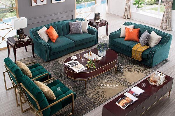 Ưu điểm của sofa nỉ nhung: chất lượng cao cấp - 04