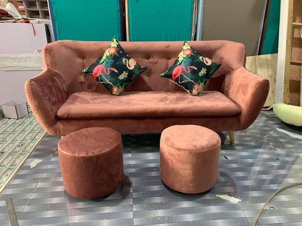 Mẫu sofa nỉ nhung đẹp - 05