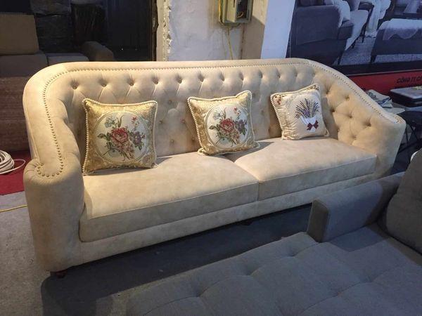 Mẫu sofa nỉ nhung đẹp - 06