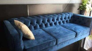 Sofa nỉ nhung 9