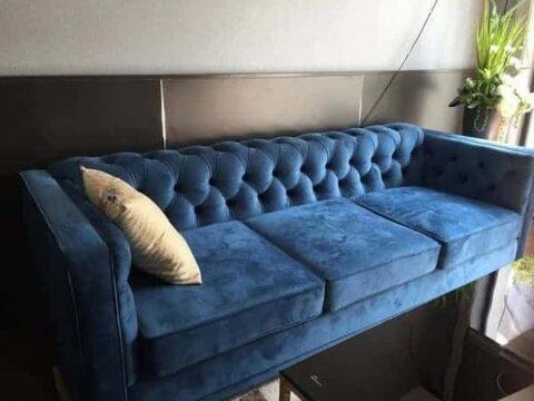 Sofa nỉ nhung 19