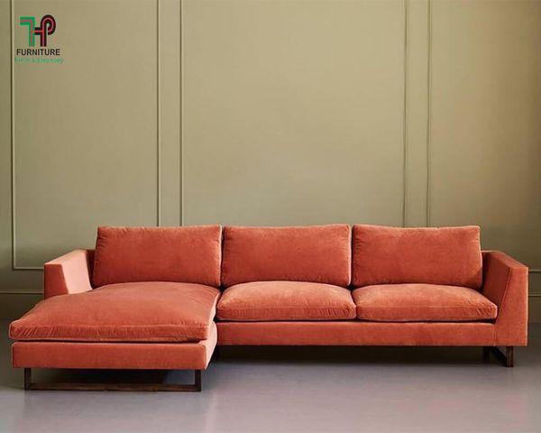 Ghế sofa nỉ nhung hiện đại - 10