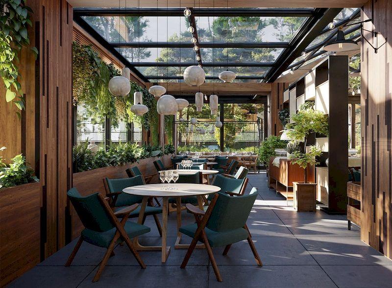 Mẫu thiết kế nhà hàng sân vườn đẹp 1 - 01