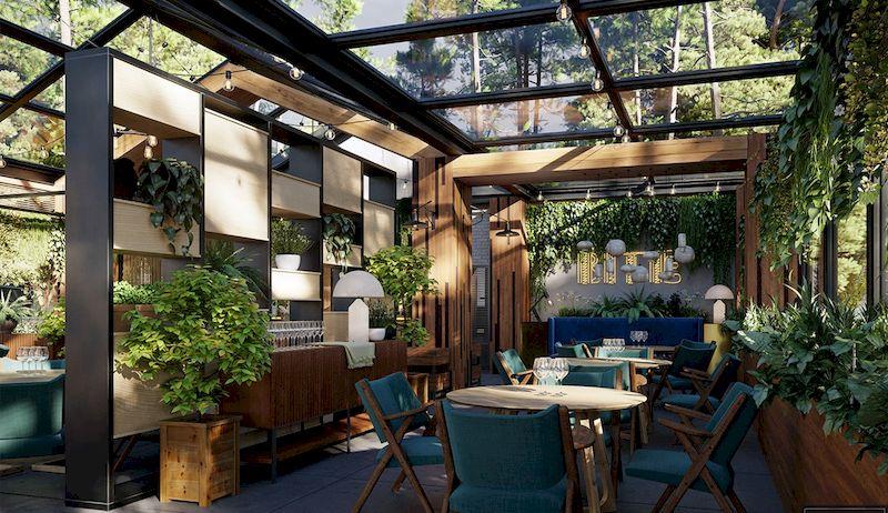 Mẫu thiết kế nhà hàng sân vườn đẹp 1 - 04