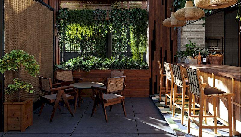 Mẫu thiết kế nhà hàng sân vườn đẹp 1 - 05