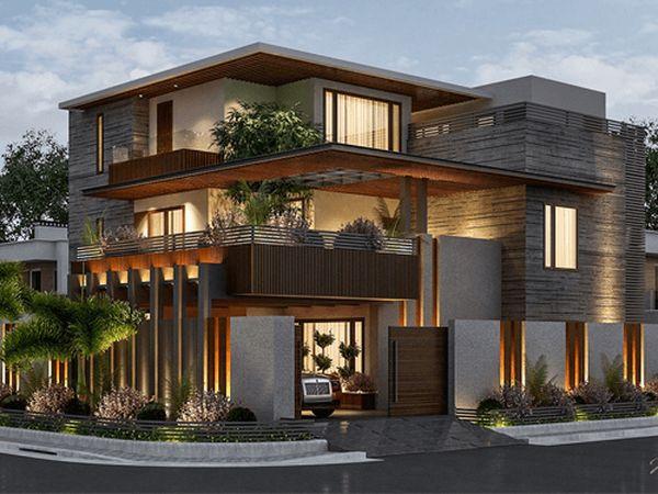Đơn giá thiết kế nhà nghỉ mini 2 tầng - 07