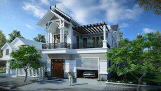 Thiết kế nhà nghỉ mini 2 tầng 7