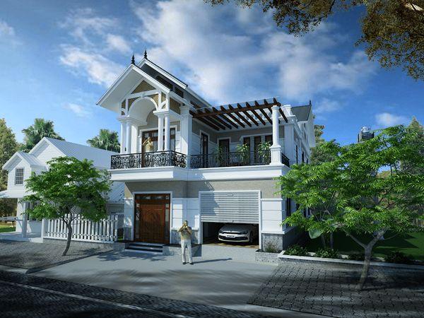 Thiết kế nhà nghỉ mini 2 tầng 3