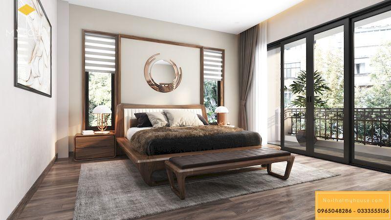Thiết kế nội thất biệt thự Gamuda phòng ngủmaster - 10
