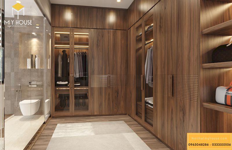 Thiết kế nội thất biệt thự Gamuda phòng ngủmaster - 12