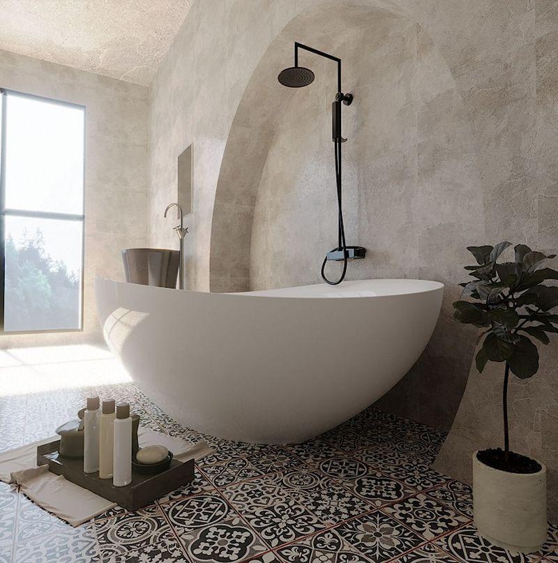 Thiết kế phòng tắm 10m2 - Mẫu 17