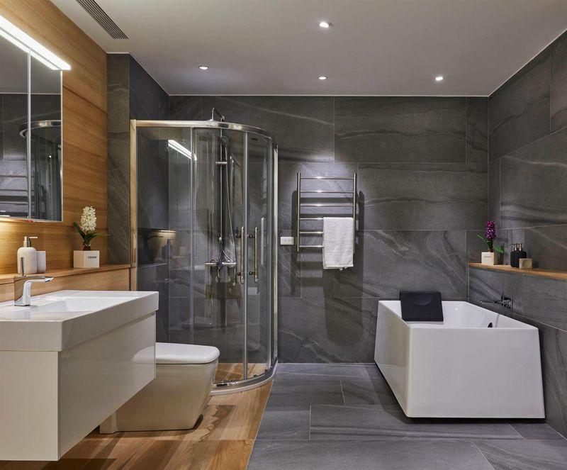 Thiết kế phòng tắm 10m2 - Mẫu 10