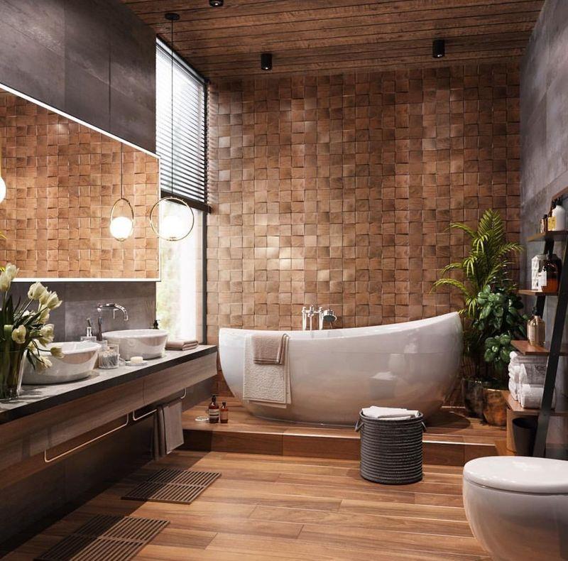 Thiết kế phòng tắm 10m2 - Mẫu 12