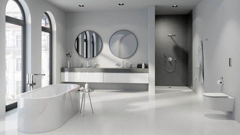 Thiết kế phòng tắm 10m2 - Mẫu 14
