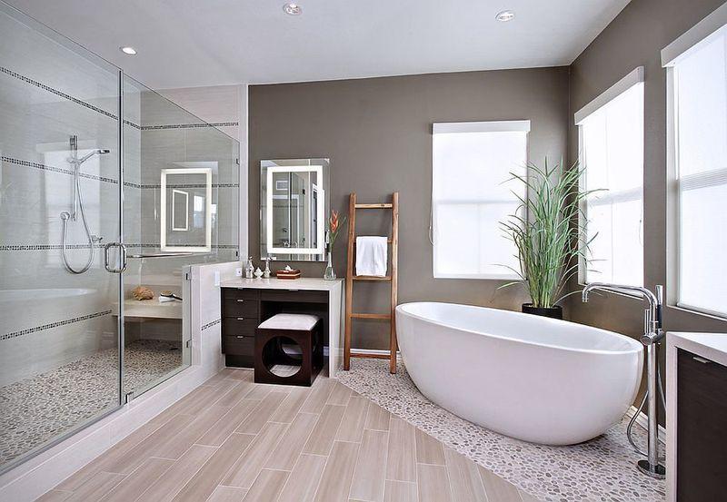 Thiết kế phòng tắm 10m2 - Mẫu 03