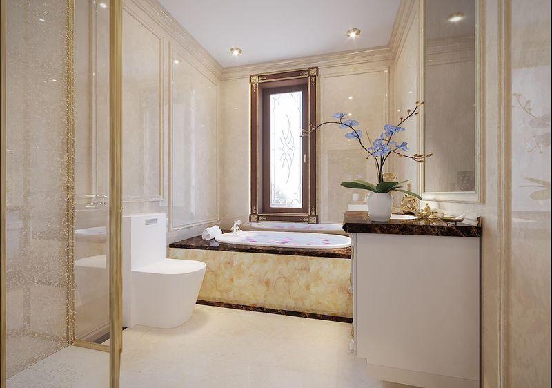 Thiết kế phòng tắm 10m2 - Mẫu 04