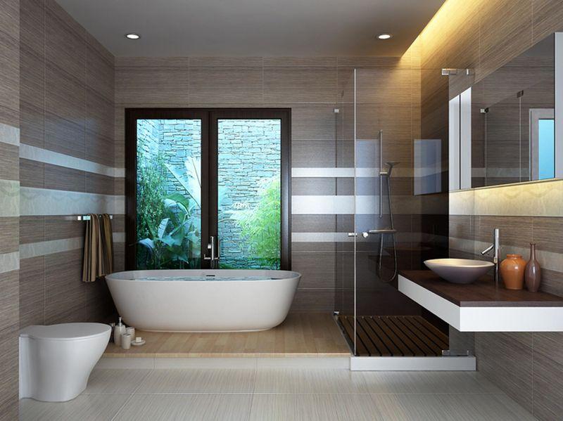 Thiết kế phòng tắm 10m2 - Mẫu 06