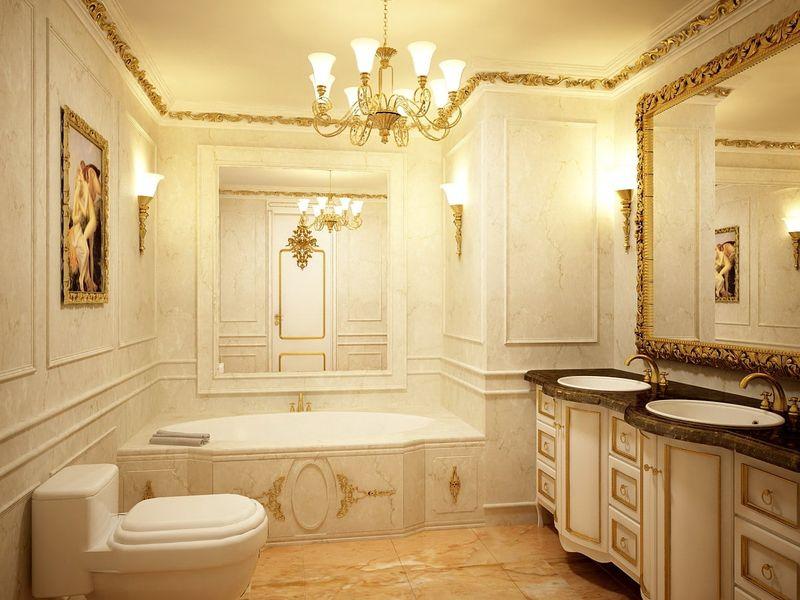 Thiết kế phòng tắm 10m2 - Mẫu 07