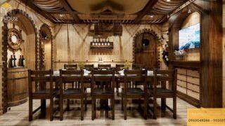 Thiết kế phòng VIP nhà hàng 7