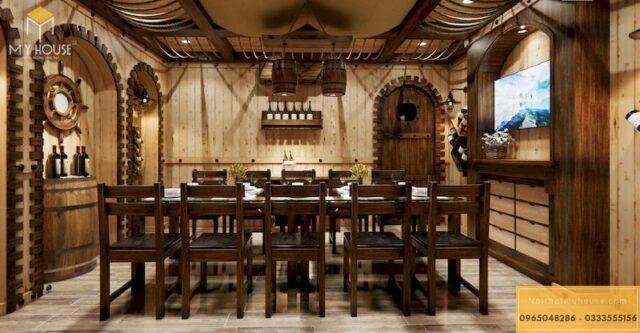 Thiết kế phòng VIP nhà hàng 23