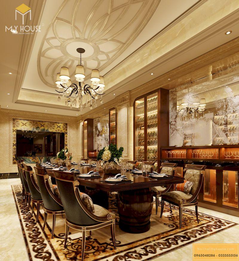 Thiết kế phòng VIP nhà hàng - Mẫu 01