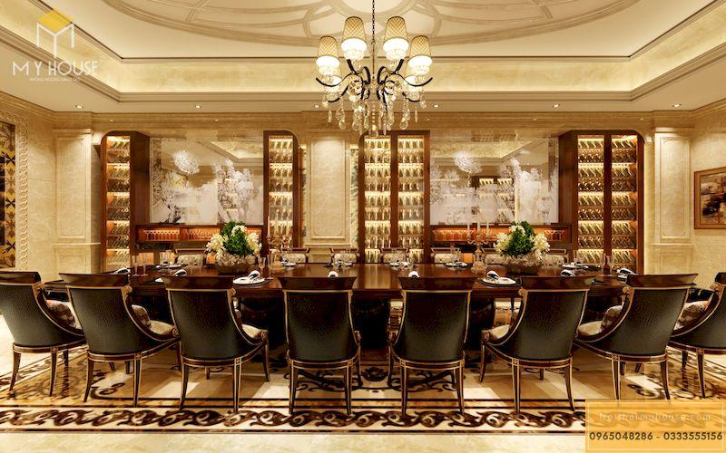 Thiết kế phòng VIP nhà hàng - Mẫu 03