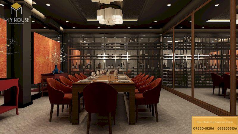 Thiết kế phòng VIP nhà hàng - Mẫu 25