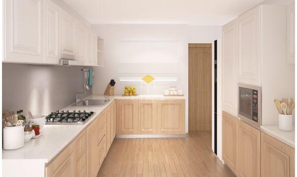Tủ bếp âm tường đẹp - Mẫu 09