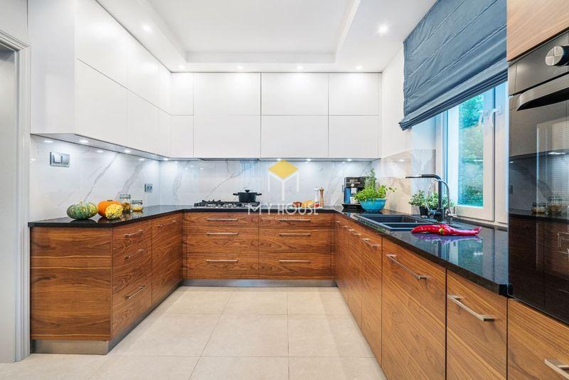 Tủ bếp melamine đẹp - Mẫu 12