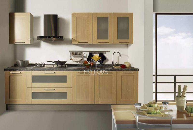 Tủ bếp melamine đẹp - Mẫu 14