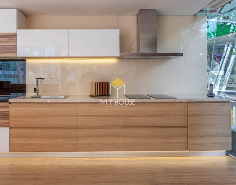 Tủ bếp melamine đẹp - Mẫu 22