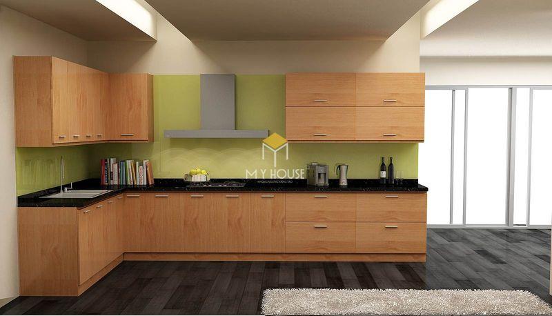Tủ bếp melamine đẹp - Mẫu 29