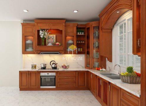 Tủ bếp nên dùng gỗ công nghiệp hay gỗ tự nhiên 12
